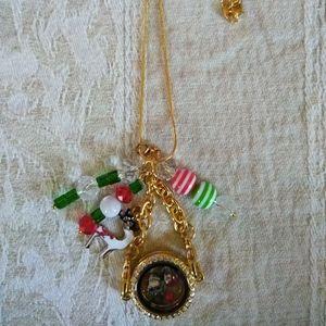 Holiday Locket Necklace